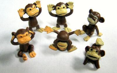 Kan een aap de markt verslaan?
