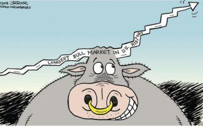 Aandelenkoersen zijn hard gestegen. Een correctie is onvermijdelijk?
